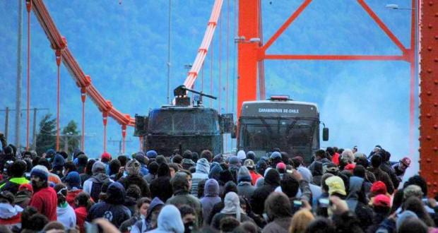 RECORDANDO LAS GRANDES PROTESTAS EN AYSÉN DEL2012