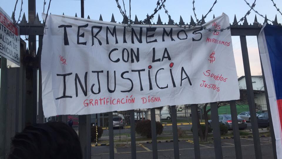 LOS TRABAJADORES DE SINDICATO GUANTE GACEL DECIDIDOS ALUCHAR